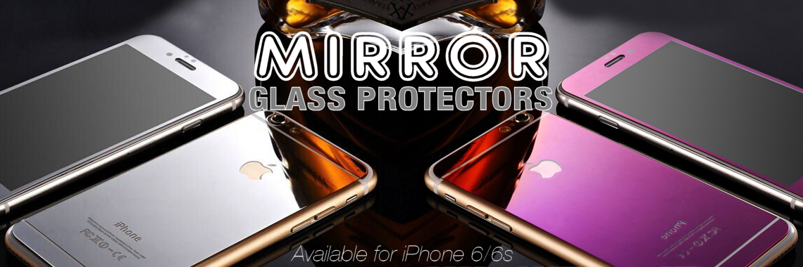 Mirror Effect Tempered Glass Screen Protectors