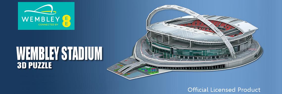 Official Wembley Stadium 3D Puzzle