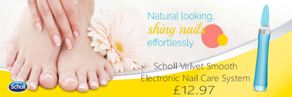Scholl Velvet Smooth Electronic Nail Care System