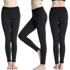 Black Thick Winter Warm Leggings for Women and Girls 12+