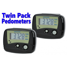 2x LCD Digital Pedometers - with Step, Calorie and Distance Counter