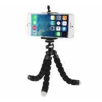 TigerZilla Mini Tripod Stand with Mobile Phone/Camera Mount Grip Holder