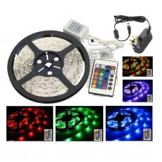 RGB LED Strip Light Set - 5 Metre (Indoor use)