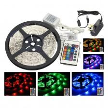 RGB LED Strip Light Set - 5 Metre (Indoor use)