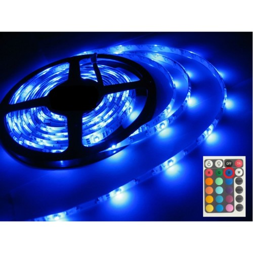 ... Waterproof RGB LED Strip Light Set   5 Metre (suitable For Outdoor Use)  ...