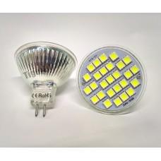 LED Bulbs: MR16, 12v, 6W