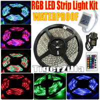 Waterproof RGB LED Strip Light Set - 5 Metre (suitable for outdoor use)