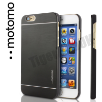 Motomo Luxury Brushed Aluminium Case for iPhone 6/6S - Black