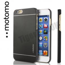 Motomo Luxury Brushed Aluminium Case for iPhone 6/6S - Black