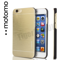 Motomo Luxury Brushed Aluminium Case for iPhone 6/6S - Gold