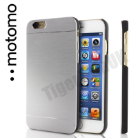 Motomo Luxury Brushed Aluminium Case for iPhone 6/6S - Silver