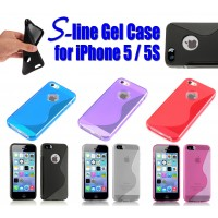 S-Line Gel Case for iPhone 5/5S