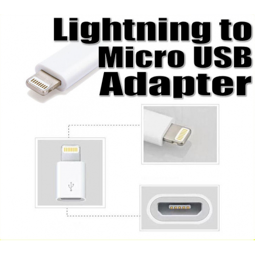 Apple Lightning To Micro Usb Adapter Md820zm A Adapter Kit Apple Dell 45w Ac Adapter Uk Power Adapter Xiaomi Mdy 08 Eo: Lightning To Micro USB Adapter