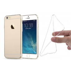 iPhone 6 / 6S Soft Gel Clear Cover Slim Ultra Thin Case Silicone Rubber Transparent