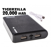 Wallet Style 20000mAh USB Power Bank Battery Charger