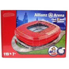 Allianz Arena 3D Football Stadium Model Puzzle