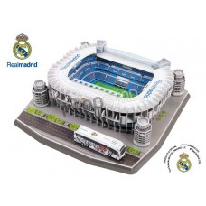 Official Licensed Real Madrid Estadio Santiago Bernabeu Stadium 3D Puzzle Model Football Club