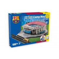 Official Licensed Barcelona Camp Nou Stadium 3D Puzzle Model Football Club