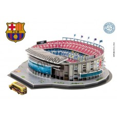 Camp Nou 3D Football Stadium Model Puzzle