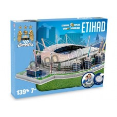 Official Licensed Manchester City - Etihad Stadium 3D Puzzle Model Football Club