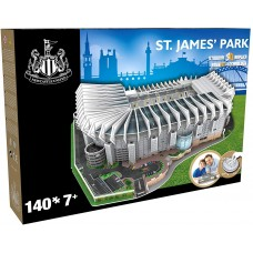 Official Licensed Newcastle Utd St. James' Park Stadium 3D Puzzle Model Football Club United
