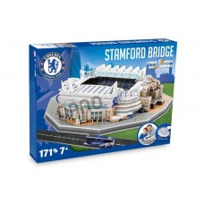 Official Licensed Chelsea Stamford Bridge Stadium 3D Puzzle Model Football Club