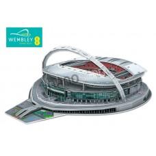 Wembley England 3D Football Stadium Model Puzzle