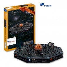 Adventures of the Solar System Discovery 3D Puzzle Model