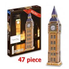 Big Ben London England 3D Puzzle Model