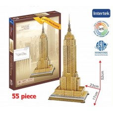 Empire State Building New York USA Building 3D Puzzle