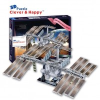 International Space Station 3D Puzzle Model