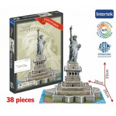 Statue of Liberty New York USA Building 3D Puzzle