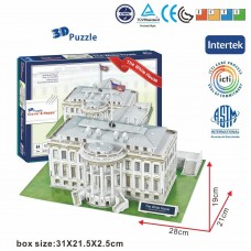 The White House USA 3D Puzzle Model