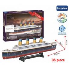 Titanic 3D Puzzle Model